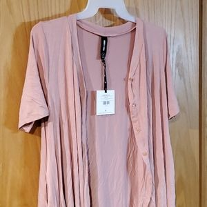 Agnes Dora limitless tunic Large in bellini